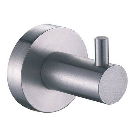 Inox Brushed Stainless Steel Single Robe Hook - IX191 d5c46b096