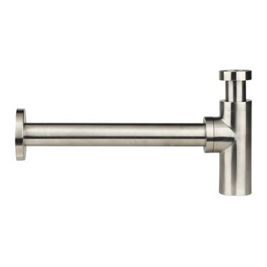 Just Taps Inox Bottle Trap - 400mm Pipe