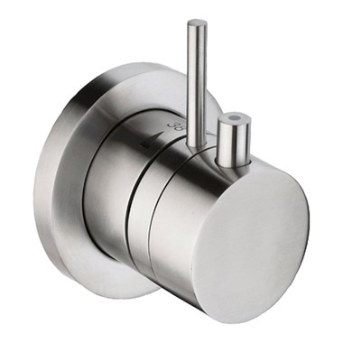 Just Taps Inox Concealed Thermostatic Shower Valve