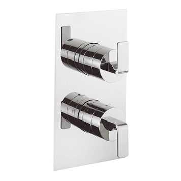 Crosswater KH Zero 1 Thermostatic Shower Valve With 2 Way Diverter