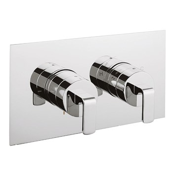 Crosswater KH Zero 1 Thermostatic Shower Valve With 2 Way Diverter - Landscape
