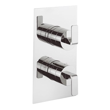 Crosswater KH Zero 1 Thermostatic Shower Valve With 2 Control and 3 Way Diverter