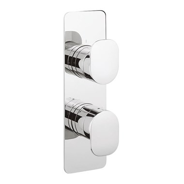 Crosswater KH Zero 2 Thermostatic Shower Valve With 2 Way Diverter - Portrait