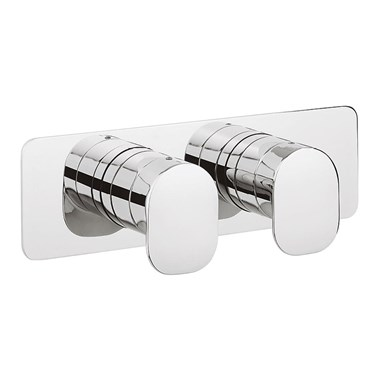 Crosswater KH Zero 2 Thermostatic Shower Valve With 2 Way Diverter - Landscape