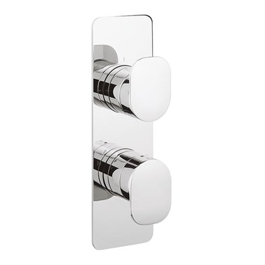 Crosswater KH Zero 2 Thermostatic Shower Valve With 3 Way Diverter - Portrait