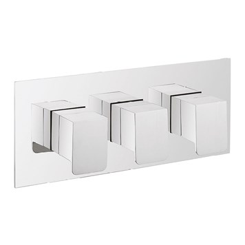 Crosswater KH Zero 3 Thermostatic Shower Valve 3 Control - Landscape