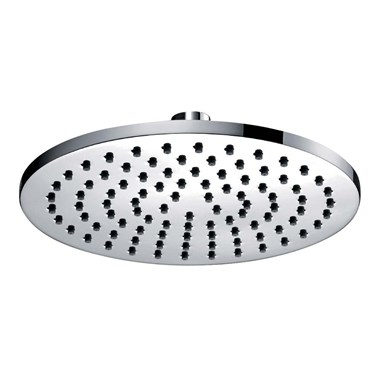 Pura Contemporary Round 180mm Shower Head & Swivel Joint