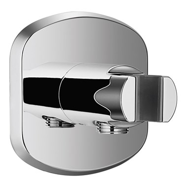 Flova Fusion Wall Outlet Elbow with Integral Handset Holder