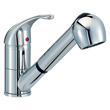 Mayfair Titan Mono Pullout Handset Kitchen Mixer Tap