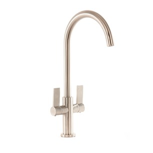 Harbour Alchemy Kitchen Mono Mixer Tap - Brushed Nickel