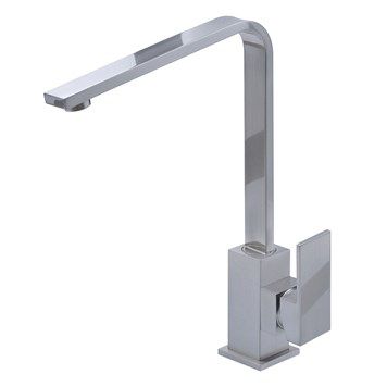 Mayfair Shuffle Brushed Nickel Kitchen Sink Mixer Tap
