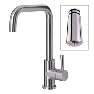Mayfair Melo Glo LED Stainless Steel Kitchen Sink Mixer Tap
