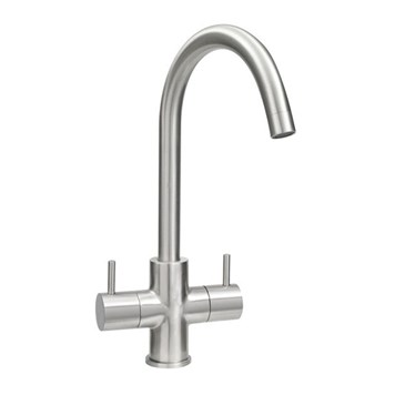 Mayfair Vibe Mono Kitchen Mixer - Brushed Nickel