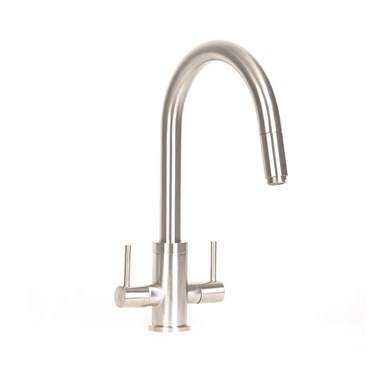 Mayfair Vibe PRO Pull Out Kitchen Mixer Tap - Brushed Nickel