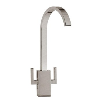 Mayfair Tech Mono Kitchen Mixer - Brushed Nickel