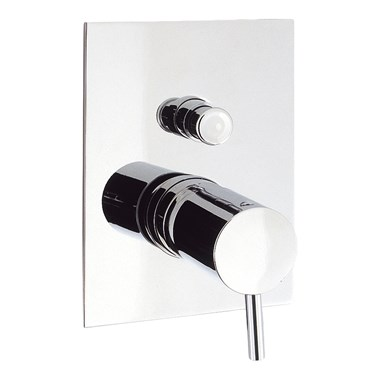 Crosswater Kai Lever Concealed Manual Shower Valve with Diverter