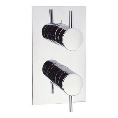 Crosswater Kai Lever Concealed Thermostatic Shower Valve with 2 Way Diverter