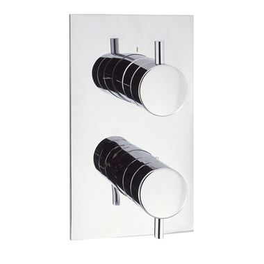 Crosswater Kai Lever Thermostatic Shower Valve - 3 Way Diverter