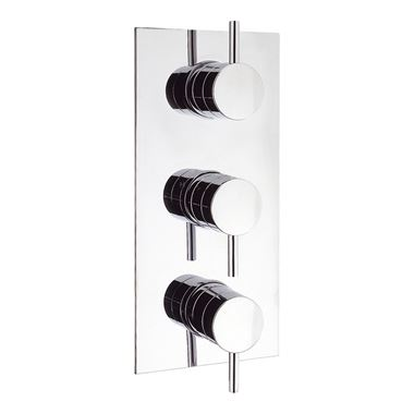 Crosswater Kai Lever Concealed Thermostatic Shower Valve with 3 Way Diverter