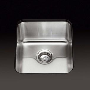 Kohler Icerock Single Bowl Brushed Stainless Steel Undermount Sink