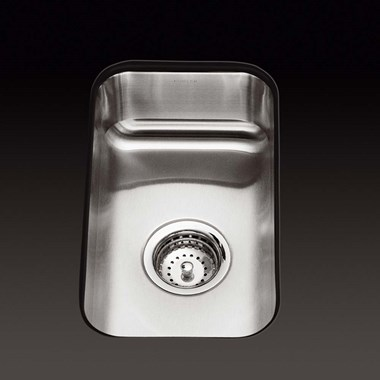 Kohler Icerock 230mm Single Bowl Brushed Steel Undermount Sink