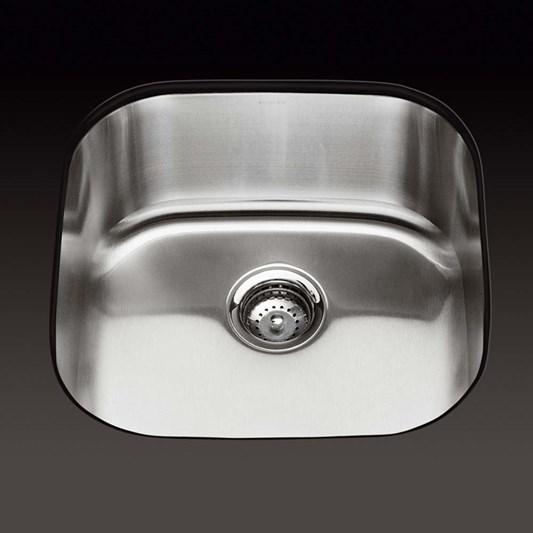 Kohler Icerock Single Bowl Brushed Stainless Steel