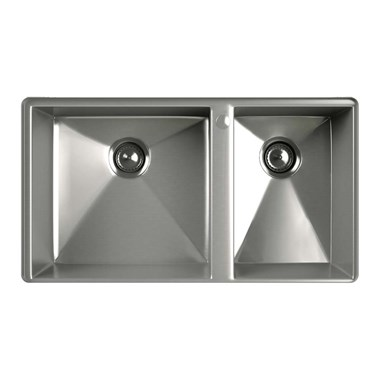 Kohler Geog 1.5 Bowl Brushed Steel Undermount Sink & Accessory Pack