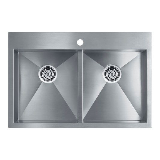 Brushed Stainless Steel Undermount