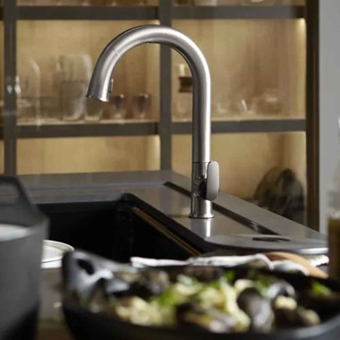 Kohler Sensate Touchless Monobloc Mixer with Dual Mode Pull Out Spray