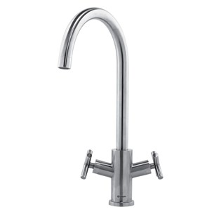 Caple Kontro Mono Kitchen Mixer - Brushed Stainless Steel