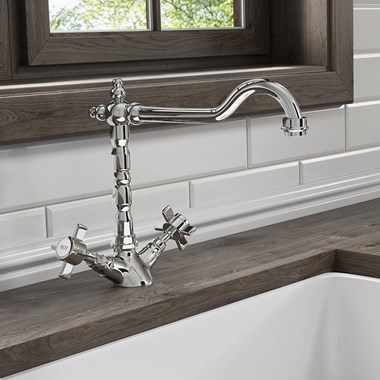 Butler & Rose Abbey Traditional Mono Kitchen Mixer Tap