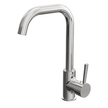 Vellmao Flores Single Lever Mono Kitchen Mixer - Chrome