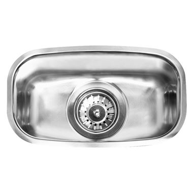 Reginox 0.5 Bowl Undermount Stainless Steel Kitchen Sink & Waste