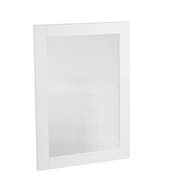 Tavistock Lansdown Wooden Framed Mirror - White
