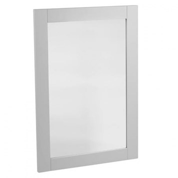 Tavistock Lansdown Wooden Framed Mirror - Pebble Grey