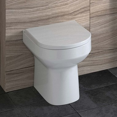 Lark Back to Wall Toilet & Soft-Close Seat