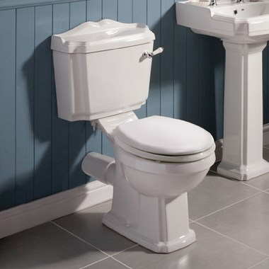Jay Traditional Close Coupled Toilet & Seat