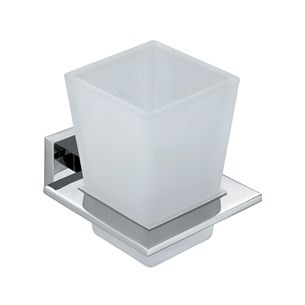 Vado Level Wall Mounted Tumbler & Holder