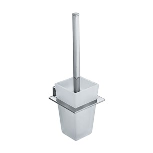 Vado Level Wall Mounted Toilet Brush & Holder