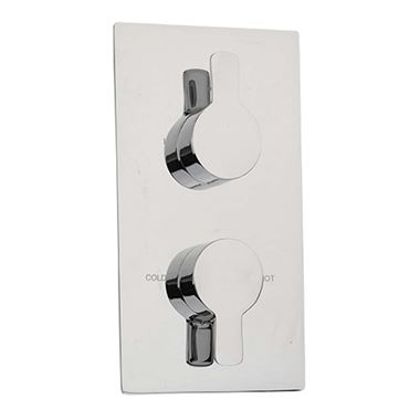 Sagittarius Livorno Concealed Thermostatic Shower Valve Chrome