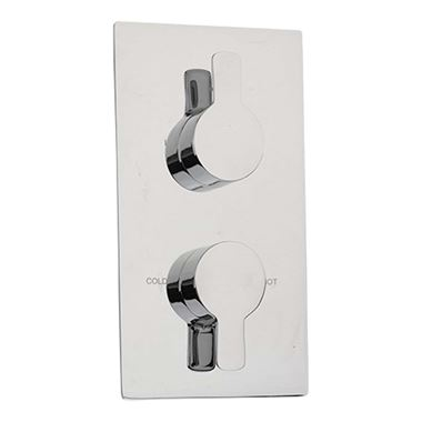 Sagittarius Livorno Thermo Conc Shower 2 Way Diverter Chrome