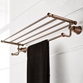 Flova Liberty 600mm Triple Bar Towel Shelf - Oil Rubbed Bronze