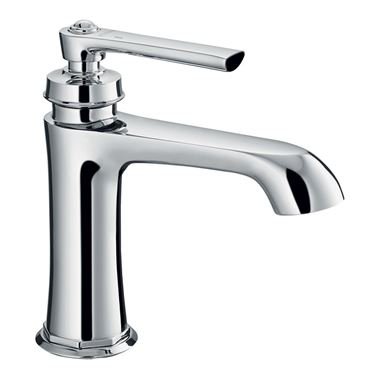 Flova Liberty Mono Basin Mixer with Clicker Waste - Chrome