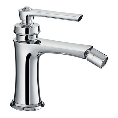 Flova Liberty Single Lever Mono Bidet Mixer with Clicker Waste - Chrome
