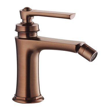 Flova Liberty Single Lever Mono Bidet Mixer with Clicker Waste - Oil Rubbed Bronze