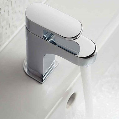 Vado Life Mono Basin Mixer with Clicker Waste