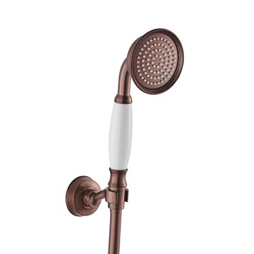Flova Liberty Mini Shower Kit with Handset, Wall Bracket & Hose - Oil Rubbed Bronze