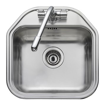Leisure Linear 1 Bowl Large Stainless Steel Sink