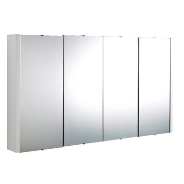 Drench Jack 4 Door Mirror Cabinet