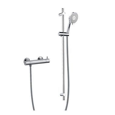 Flova Levo Bar Valve With Adjustable Height Shower Head